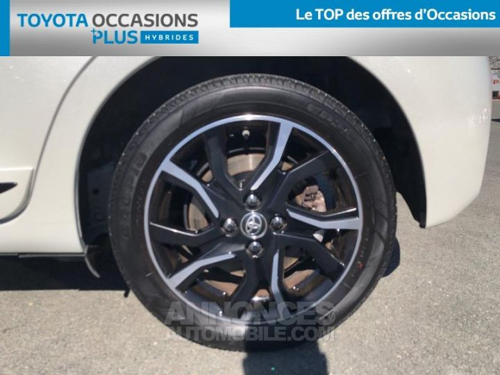 Toyota YARIS 100h Collection 5p BLANC Occasion - 4