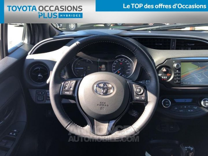 Toyota YARIS 100h Collection 5p BLANC Occasion - 6