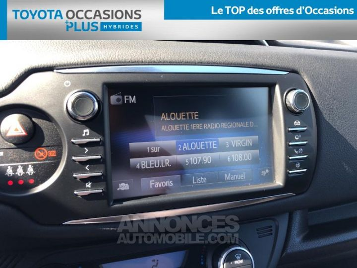 Toyota YARIS 100h Collection 5p BLANC Occasion - 7