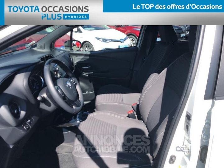 Toyota YARIS 100h Collection 5p BLANC Occasion - 13