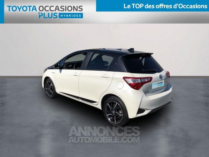 Toyota YARIS 100h Collection 5p BLANC Occasion - 2
