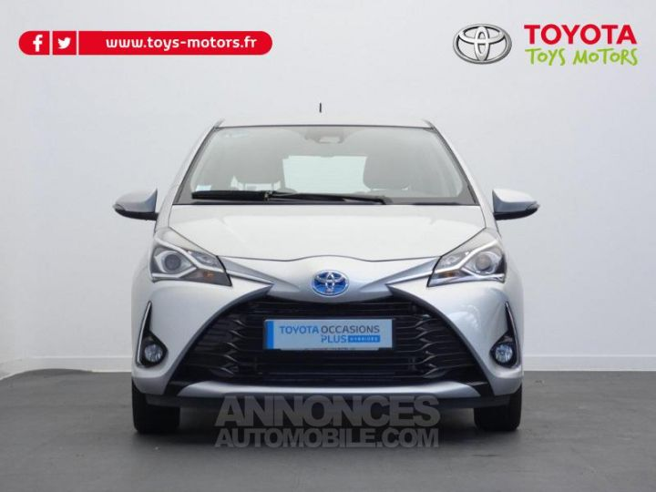 Toyota YARIS 100h Dynamic 5p GRIS ALUMINIUM Occasion - 12