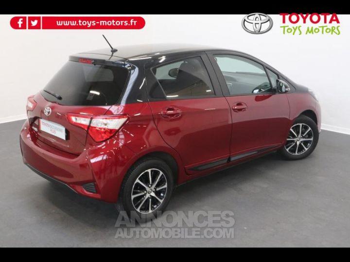 Toyota YARIS 110 VVT-i Design 5p biton rouge/noir Occasion - 2