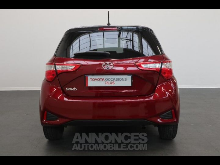 Toyota YARIS 110 VVT-i Design 5p biton rouge/noir Occasion - 6