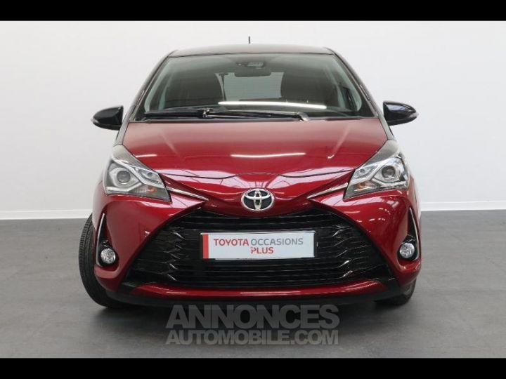 Toyota YARIS 110 VVT-i Design 5p biton rouge/noir Occasion - 8