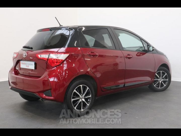 Toyota YARIS 110 VVT-i Design 5p biton rouge/noir Occasion - 13