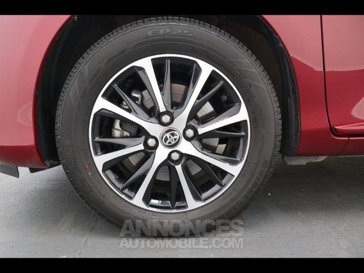 Toyota YARIS 110 VVT-i Design 5p biton rouge/noir Occasion - 19