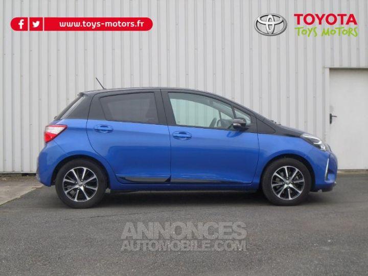 Toyota YARIS 110 VVT-i Design 5p RC18 BI TON BLEU NEBULA   NOIR Occasion - 4