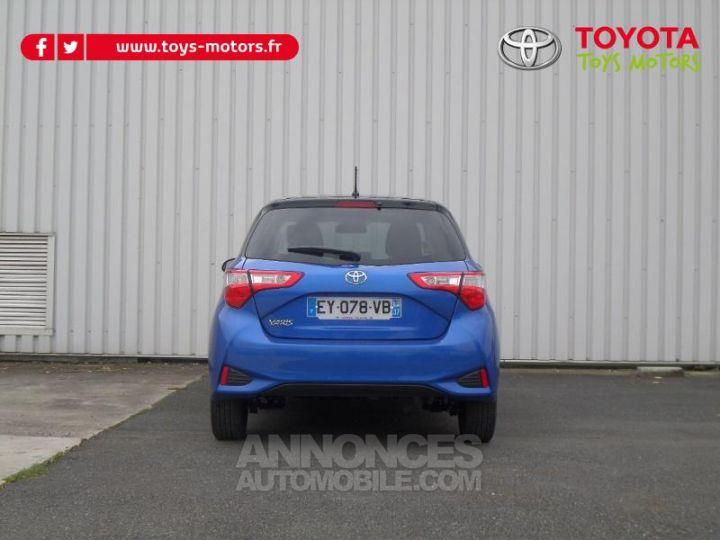 Toyota YARIS 110 VVT-i Design 5p RC18 BI TON BLEU NEBULA   NOIR Occasion - 6