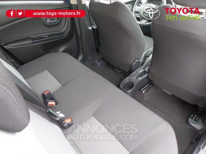 Toyota YARIS 110 VVT-i Design 5p RC18 BI TON BLEU NEBULA   NOIR Occasion - 12