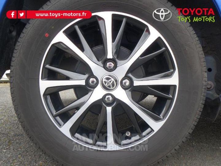 Toyota YARIS 110 VVT-i Design 5p RC18 BI TON BLEU NEBULA   NOIR Occasion - 16