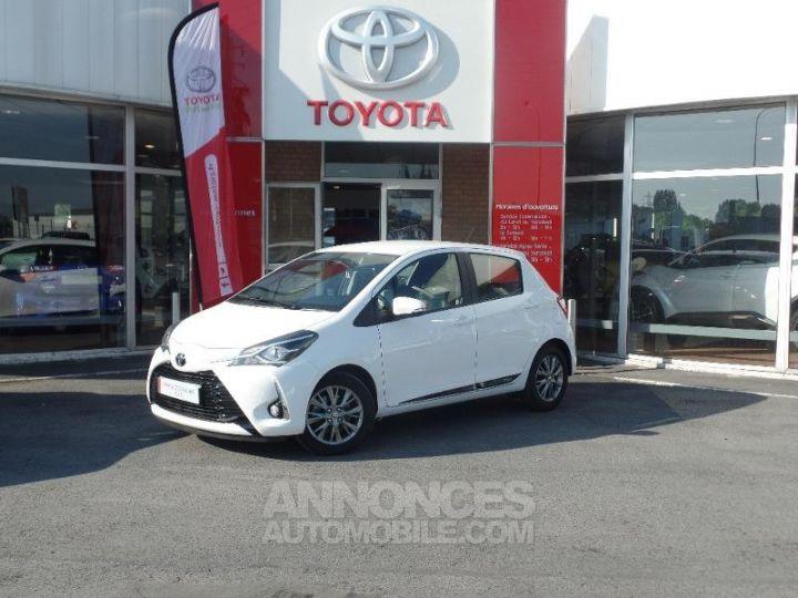 Toyota YARIS 110 VVT-i Dynamic 5p Blanc Occasion - 1