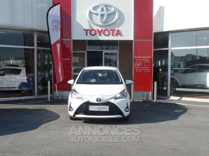 Toyota YARIS 110 VVT-i Dynamic 5p Blanc Occasion - 2