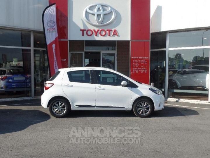 Toyota YARIS 110 VVT-i Dynamic 5p Blanc Occasion - 3