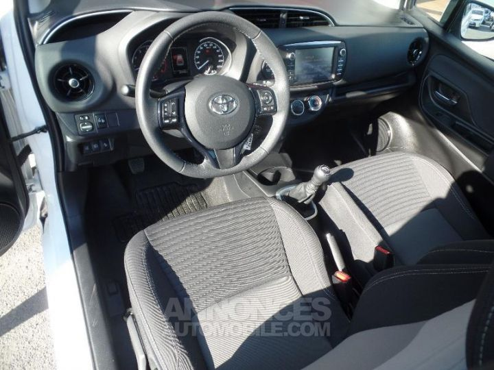 Toyota YARIS 110 VVT-i Dynamic 5p Blanc Occasion - 13