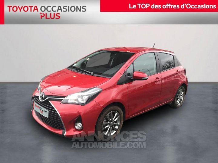 Toyota YARIS 69 VVT-i Dynamic 5p Rouge foncé Occasion - 1