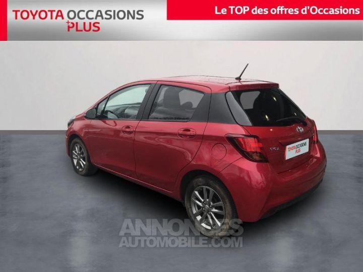Toyota YARIS 69 VVT-i Dynamic 5p Rouge foncé Occasion - 2