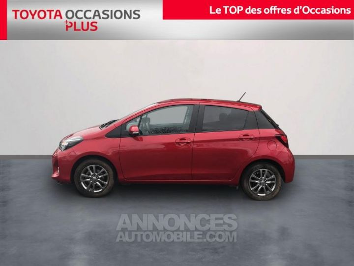 Toyota YARIS 69 VVT-i Dynamic 5p Rouge foncé Occasion - 3