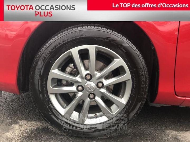 Toyota YARIS 69 VVT-i Dynamic 5p Rouge foncé Occasion - 4