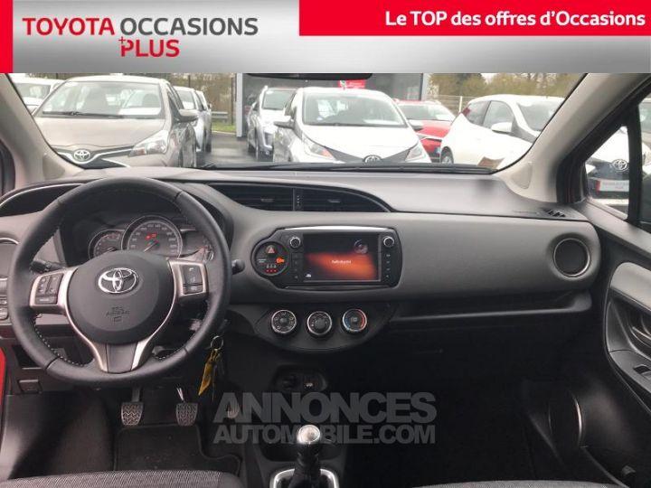 Toyota YARIS 69 VVT-i Dynamic 5p Rouge foncé Occasion - 5