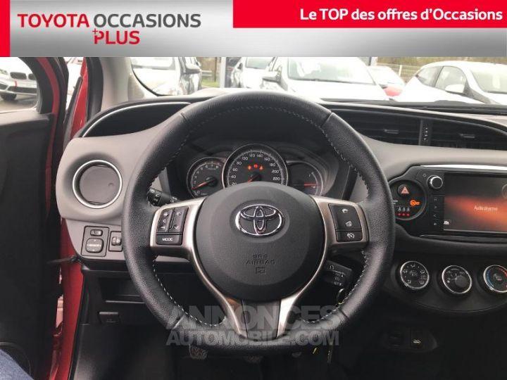 Toyota YARIS 69 VVT-i Dynamic 5p Rouge foncé Occasion - 6