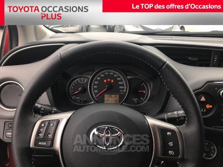 Toyota YARIS 69 VVT-i Dynamic 5p Rouge foncé Occasion - 8