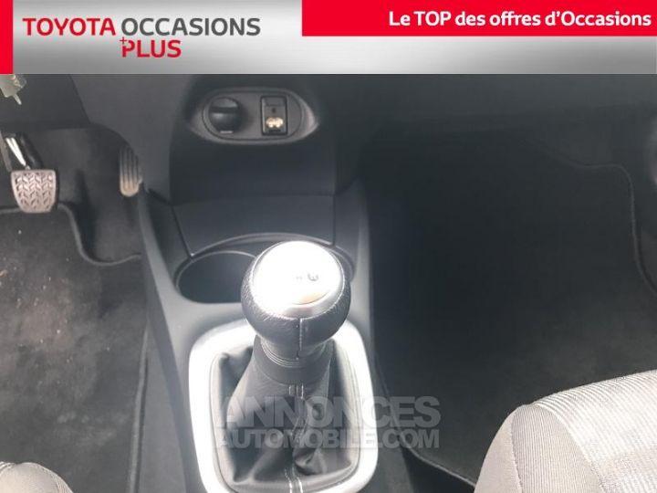 Toyota YARIS 69 VVT-i Dynamic 5p Rouge foncé Occasion - 9
