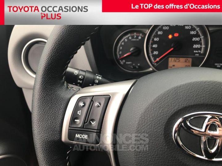 Toyota YARIS 69 VVT-i Dynamic 5p Rouge foncé Occasion - 10