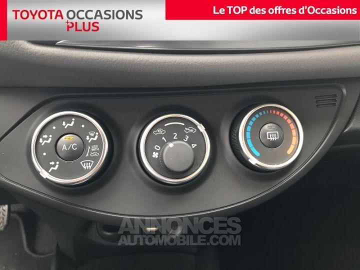 Toyota YARIS 69 VVT-i Dynamic 5p Rouge foncé Occasion - 11