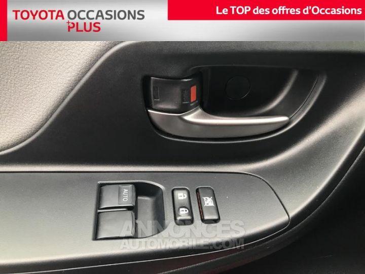 Toyota YARIS 69 VVT-i Dynamic 5p Rouge foncé Occasion - 12