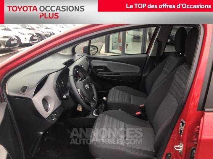 Toyota YARIS 69 VVT-i Dynamic 5p Rouge foncé Occasion - 13
