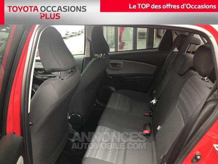 Toyota YARIS 69 VVT-i Dynamic 5p Rouge foncé Occasion - 14