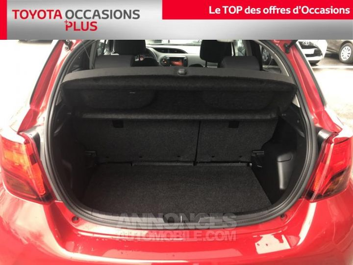 Toyota YARIS 69 VVT-i Dynamic 5p Rouge foncé Occasion - 15