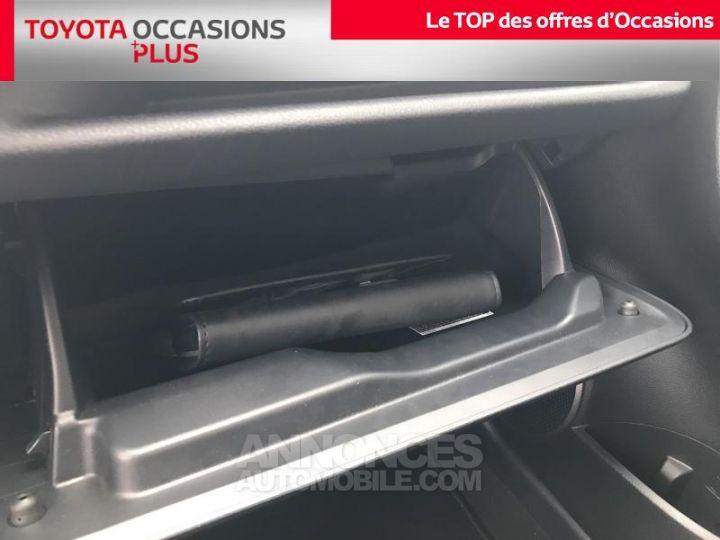Toyota YARIS 69 VVT-i Dynamic 5p Rouge foncé Occasion - 16