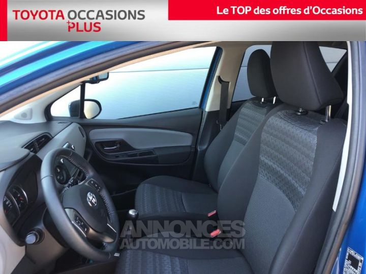 Toyota YARIS 69 VVT-i Dynamic 5p BLEU LAGON Occasion - 13