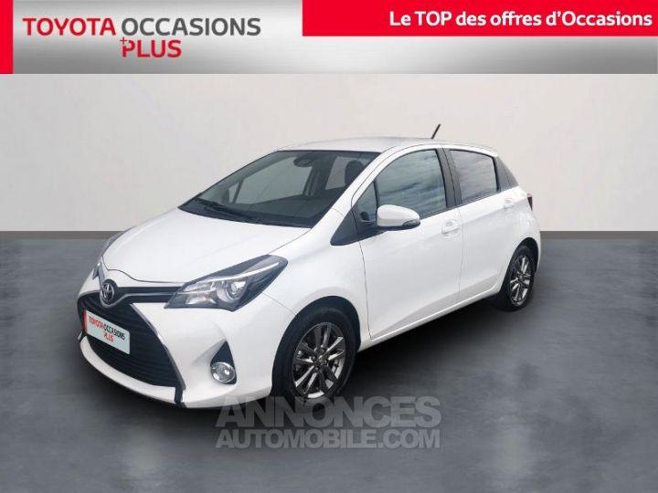 Toyota YARIS 69 VVT-i Dynamic 5p BLANC Occasion - 1