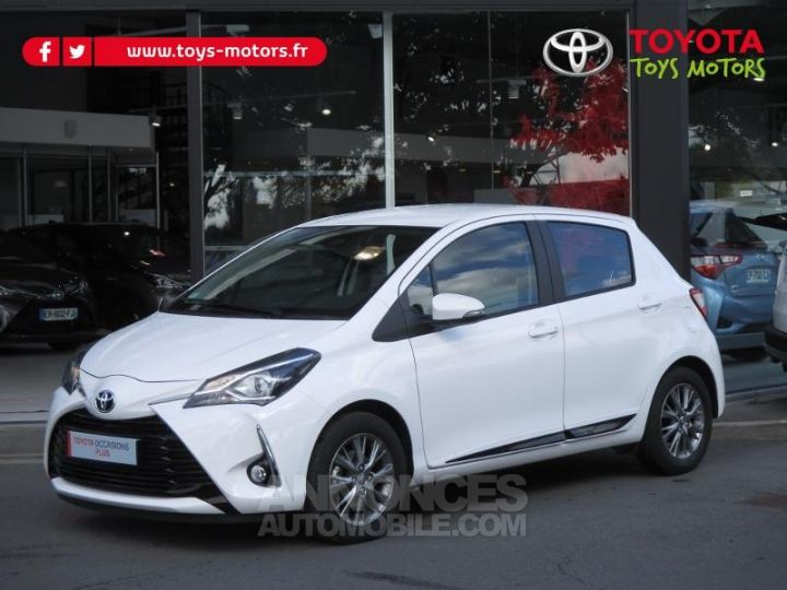 Toyota YARIS 69 VVT-i Dynamic Business 5p BLANCHE Occasion - 1
