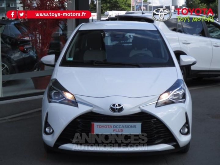 Toyota YARIS 69 VVT-i Dynamic Business 5p BLANCHE Occasion - 2