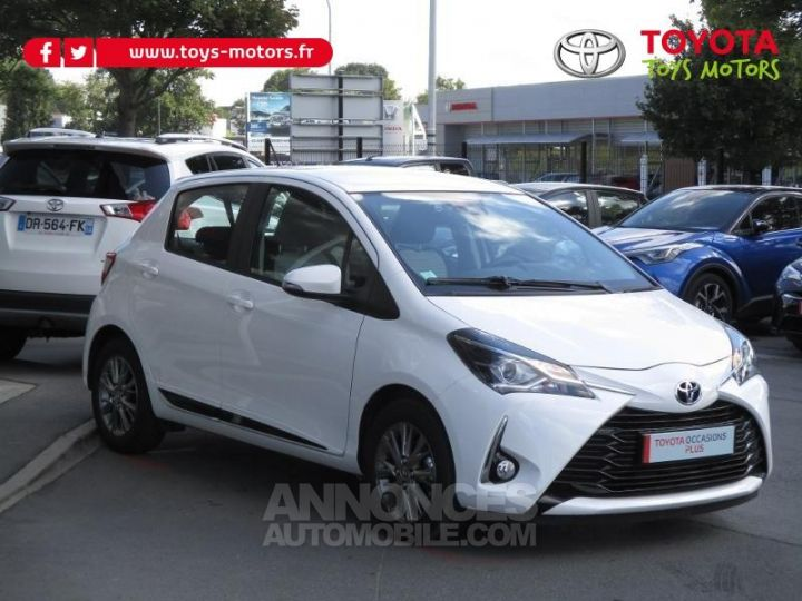 Toyota YARIS 69 VVT-i Dynamic Business 5p BLANCHE Occasion - 3