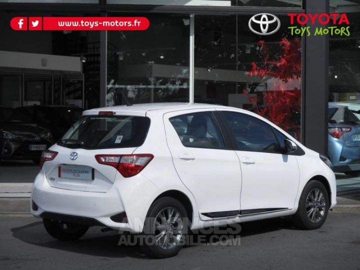 Toyota YARIS 69 VVT-i Dynamic Business 5p BLANCHE Occasion - 4