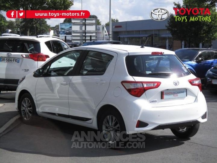 Toyota YARIS 69 VVT-i Dynamic Business 5p BLANCHE Occasion - 6
