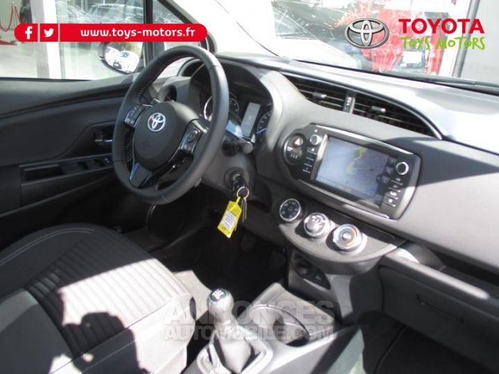 Toyota YARIS 69 VVT-i Dynamic Business 5p BLANCHE Occasion - 7