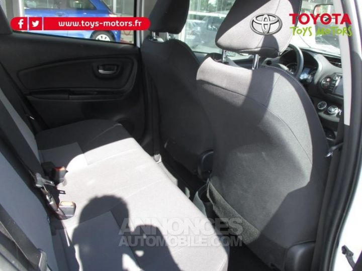 Toyota YARIS 69 VVT-i Dynamic Business 5p BLANCHE Occasion - 9