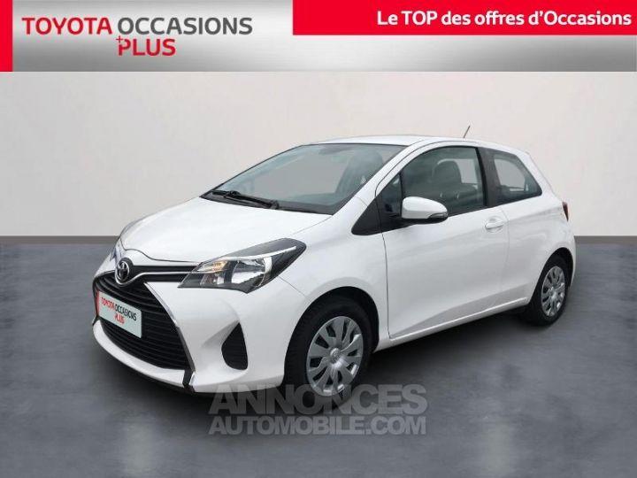 Toyota YARIS 69 VVT-i France 3p BLANC PUR Occasion - 1