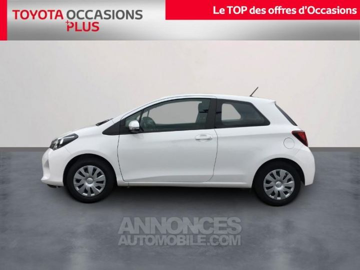 Toyota YARIS 69 VVT-i France 3p BLANC PUR Occasion - 3