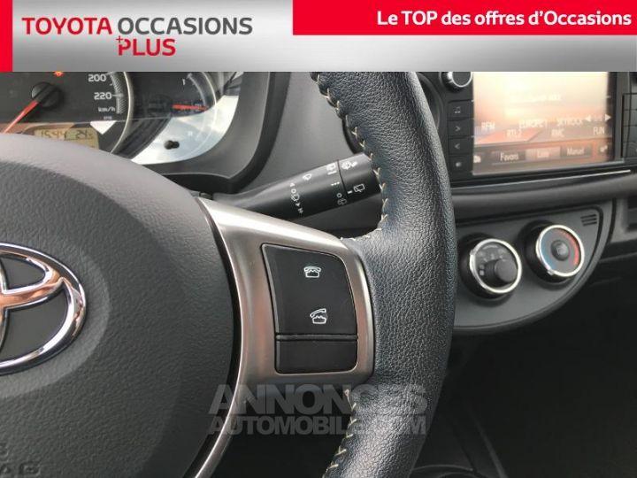 Toyota YARIS 69 VVT-i France 3p BLANC PUR Occasion - 9