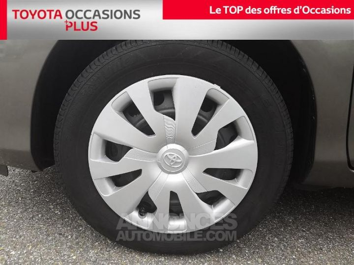 Toyota YARIS 69 VVT-i France 3p Gris Clair Métallisé Occasion - 4