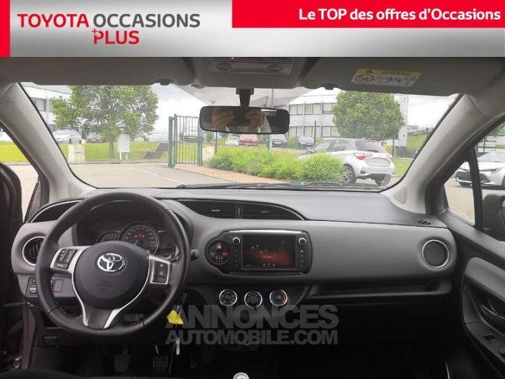 Toyota YARIS 69 VVT-i France 3p Gris Clair Métallisé Occasion - 5