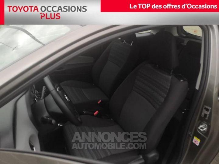 Toyota YARIS 69 VVT-i France 3p Gris Clair Métallisé Occasion - 13