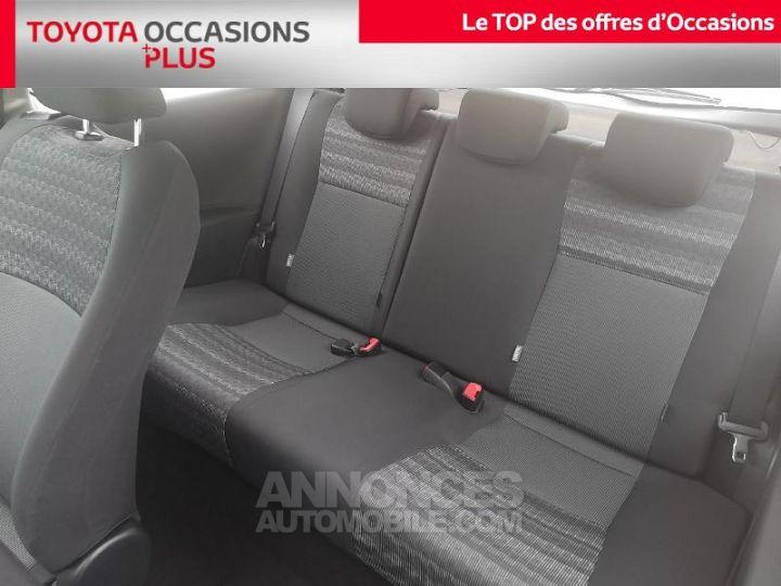 Toyota YARIS 69 VVT-i France 3p Gris Clair Métallisé Occasion - 14